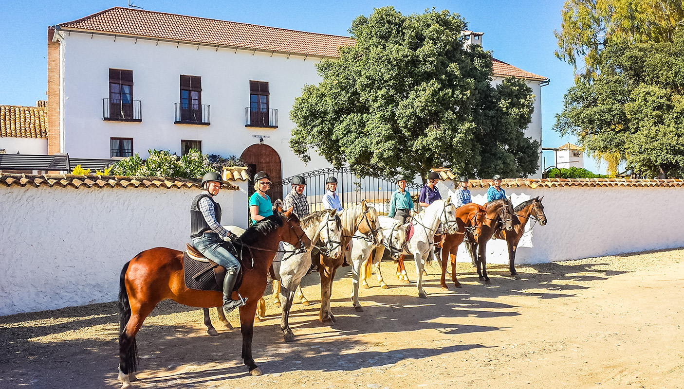 best horse riding holiday Spain